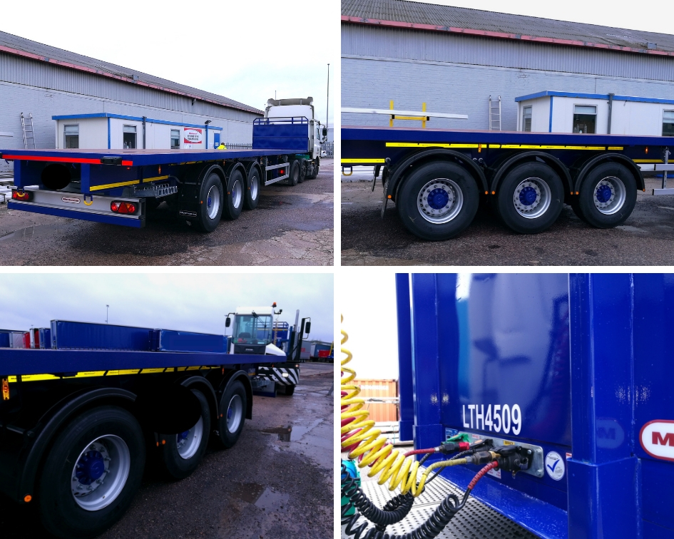 Montracon flat trailers